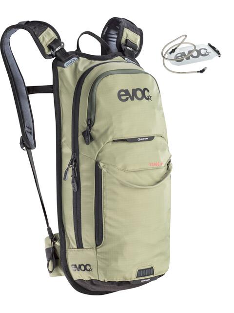 EVOC Stage - Sac à dos - 6 L + Hydration Bladder 2 L olive